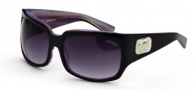 Black Flys Zipper Fly Sunglasses Sunglasses - Violet Stripe
