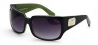 Black Flys Zipper Fly Sunglasses Sunglasses - Grey / Lime