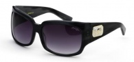 Black Flys Zipper Fly Sunglasses Sunglasses - Black / Grey Horn