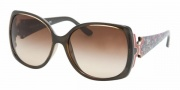 Bvlgari BV8078 Sunglasses Sunglasses - 967/13 Dark Havana / Brown Gradient