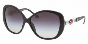Bvlgari BV8080B Sunglasses Sunglasses - 501/8G Black / Gray Gradient