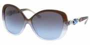 Bvlgari BV8080B Sunglasses Sunglasses - 51148F Brown Gradient Azure / Blue Gray Gradient