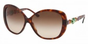 Bvlgari BV8080B Sunglasses Sunglasses - 851/13 Dark Havana / Brown Gradient