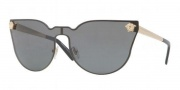 Versace VE2120 Sunglasses Sunglasses - 100287 Gold / Gray