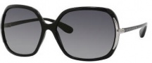 Marc by Marc Jacobs MMJ 115/P/S Sunglasses Sunglasses - D28P Black (RV Gray Shaded Polarized Lens)