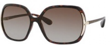 Marc by Marc Jacobs MMJ 115/P/S Sunglasses Sunglasses - V08P Dark Havana (RX Brown Shaded Polarized Lens)