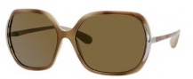 Marc by Marc Jacobs MMJ 115/P/S Sunglasses Sunglasses - 1Q6P Olive Tortoise (VW Brown Polarized Lens)
