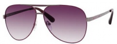 Marc by Marc Jacobs 132/U/S Sunglasses Sunglasses - 0l0W Purple Dark Ruthenium (J8 Mauve Gradient Lens)
