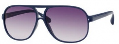 Marc by Marc Jacobs MMJ 136/S Sunglasses Sunglasses - 0l0B Blue (9C Dark Gray Gradient Lens)