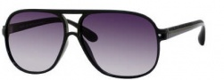 Marc by Marc Jacobs MMJ 136/S Sunglasses Sunglasses - 0D28 Shiny Black (JJ Gray Gradient Lens)