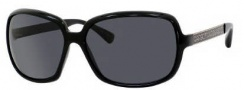 Marc by Marc Jacobs MMJ 140/P/S Sunglasses Sunglasses - OREW Black Gold (RA Gray Polarized Lens)