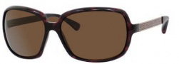 Marc by Marc Jacobs MMJ 140/P/S Sunglasses Sunglasses - ONHO Dark Havana Gold (VW Brown Polarized Lens)