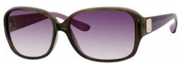 Marc by Marc Jacobs MMJ 142/S Sunglasses Sunglasses - OZO5 Gray Burgundy (PT Gray Gradient Lens)