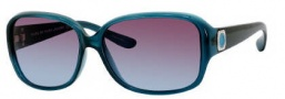 Marc by Marc Jacobs MMJ 142/S Sunglasses Sunglasses - OZO7 Teal (98 Brown Teal Lens)