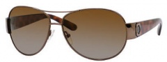 Marc by Marc Jacobs MMJ 149/P/S Sunglasses - ZLOP Brown Havana (RW Brown Shaded Polarized Lens)