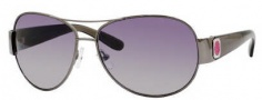 Marc by Marc Jacobs MMJ 149/S Sunglasses Sunglasses - OZKO Dark Ruthenium / Gray (IC Gray Mirror Gradient Silver Lens)