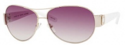 Marc by Marc Jacobs MMJ 149/S Sunglasses Sunglasses - 024S Gold White (02 Brown Gradient Lens)