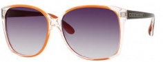 Marc by Marc Jacobs MMJ 157/S Sunglasses Sunglasses - OM7R Crystal Orange Black (JJ Gray Gradient Lens)