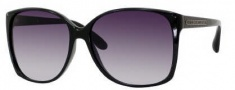 Marc by Marc Jacobs MMJ 157/S Sunglasses Sunglasses - 0D28 Shiny Black (JJ Gray Gradient Lens)