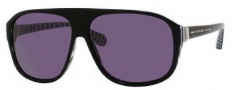 Marc by Marc Jacobs MMJ 160/S Sunglasses Sunglasses - OM4P Striped Black (BN Dark Gray Lens)