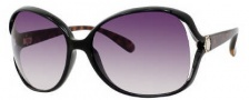 Marc by Marc Jacobs MMJ 163/S Sunglasses Sunglasses - OAI6 Black Havana (9C Dark Gray Gradient Lens)