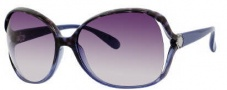 Marc by Marc Jacobs MMJ 163/S Sunglasses Sunglasses - OY9C Havana Blue (9C Dark Gray Gradient Lens)