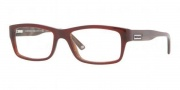 Versace VE3145 Eyeglasses Eyeglasses - 606 Red Brown Horn