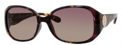 Marc by Marc Jacobs MMJ 166/S Sunglasses Sunglasses - OV08 Havana (S1 Brown Gradient Lens)