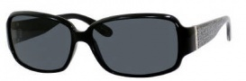 Marc by Marc Jacobs MMJ 168/P/S Sunglasses Sunglasses - 0D28 Shiny Black (RA Gray Polarized Lens)