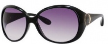 Marc by Marc Jacobs MMJ 170/S Sunglasses Sunglasses - 0D28 Shiny Black (9C Dark Gray Gradient Lens)