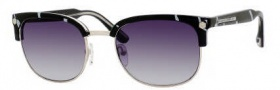Marc by Marc Jacobs MMJ 171/S Sunglasses Sunglasses - 0QK5 Black Cream White Zebra (JJ Gray Gradient Lens)