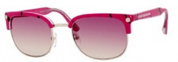 Marc by Marc Jacobs MMJ 171/S Sunglasses Sunglasses - 0QK0 Fuchsia Black Dot (XK Burgundy Gradient Lens)
