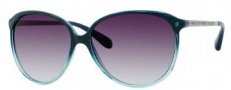 Marc by Marc Jacobs MMJ 174/S Sunglasses Sunglasses - OYDN Petroleum Lacquer Ruthenium (5M Gray Gradient Aqua Lens)