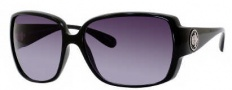 Marc by Marc Jacobs MMJ 179/S Sunglasses Sunglasses - 0D28 Shiny Black (JJ Gray Gradient Lens)