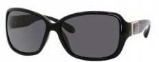 Marc by Marc Jacobs MMJ 182/P/S Sunglasses Sunglasses - 0D28 Shiny Black (RA Gray Polarized Lens)