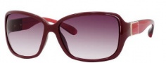 Marc by Marc Jacobs MMJ 182/S Sunglasses Sunglasses - OYGl Red (DZ Mauve Lens)
