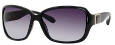 Marc by Marc Jacobs MMJ 182/S Sunglasses Sunglasses - 0D28 Shiny Black (JJ Gray Gradient Lens)