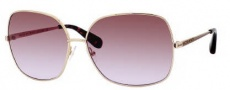 Marc by Marc Jacobs MMJ 183/S Sunglasses Sunglasses - OJ5G Gold (LW Brown Violet Lens)