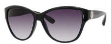 Marc by Marc Jacobs MMJ 185/S Sunglasses Sunglasses - 0D28 Shiny Black (JJ Gray Gradient Lens)