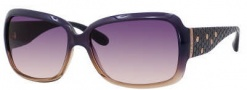Marc by Marc Jacobs MMJ 189/S Sunglasses Sunglasses - OYLX Blue Beige Violet (KG Gray Salmon Lens)