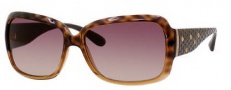 Marc by Marc Jacobs MMJ 189/S Sunglasses Sunglasses - OYLQ Havana Peach Brown (02 Brown Gradient Lens)