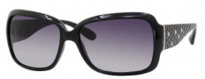 Marc by Marc Jacobs MMJ 189/S Sunglasses Sunglasses - 0D28 Shiny Black (JJ Gray Gradient Lens)