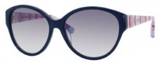 Marc by Marc Jacobs MMJ 200/N/S Sunglasses Sunglasses - OYQC Blue / White Azure (LF Gray Gradient Lens)