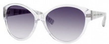 Marc by Marc Jacobs MMJ 200/N/S Sunglasses Sunglasses - OYQE Crystal / White Gray (JJ Gray Gradient Lens)