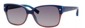 Marc by Marc Jacobs MMJ 201/S Sunglasses Sunglasses - OUWL Blue Orange (DX Dark Gray Shaded Lens)