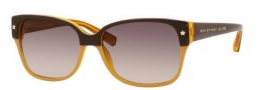 Marc by Marc Jacobs MMJ 201/S Sunglasses Sunglasses - 060Y Brown Orange (ED Brown Gradient Lens)