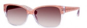 Marc by Marc Jacobs MMJ 201/S Sunglasses Sunglasses - 061A Pink Stars (S2 Brown Gradient Lens)