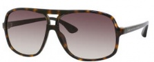 Marc by Marc Jacobs MMJ 212/S Sunglasses Sunglasses - 0581 Havana Black (CC Brown Gradient Lens)