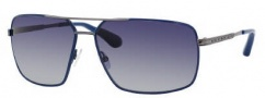 Marc by Marc Jacobs MMJ 214/P/S Sunglasses Sunglasses - OYOB Blue Dark Ruthenium (LO Azure Lens)
