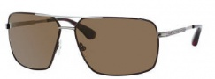 Marc by Marc Jacobs MMJ 214/P/S Sunglasses Sunglasses - ONCJ Brown Ruthenium (VW Brown Polarized Lens)